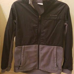 Columbia boys fleece jacket size large 14 - 16
